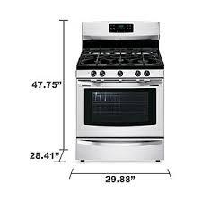 kenmore 02273433. kenmore 74133 5.0 cu. ft. freestanding gas range w/variable self-clean - stainless steel 02273433 4