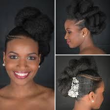Image Coiffure Africaine Chignon Mariage Coupe De Cheveux