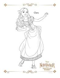 Coloring pages for kids gymnastics simple8e50. The Nutcracker Activity Sheets Mother 2 Mother Blog Coloring Pages Disney Nutcracker Nutcracker