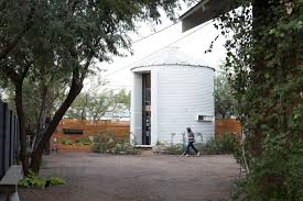 Cool Turns Grain Silo Into Home As Wells As Recycling Architect Turns Grain  Silo Into Home