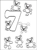 Small Picture Number 7 Seven coloring page Coloring pages
