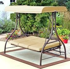 outdoor swing with canopy outdoor swing hammock rocker tan garden furniture canopy steel patio porch bed