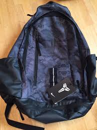 nike kobe mamba xi basketball backpack