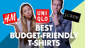 Best Budget-Friendly <b>Men's T</b>-<b>Shirts</b> For <b>2019</b> - YouTube