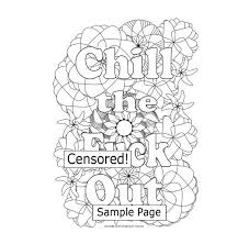 Small Picture 10 best Swear Word Coloring Books and Pages images on Pinterest