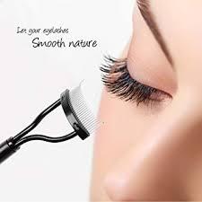 Eyelash Brush Docolor Eyelash Comb Curlers Makeup Mascara Applicator Eyebrow Grooming Brush Tool