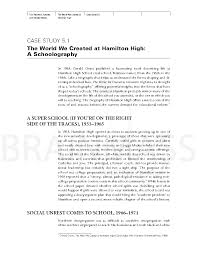 analysis of educational case study of american hschool