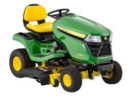 john deere x350 42 riding lawn mower tractor