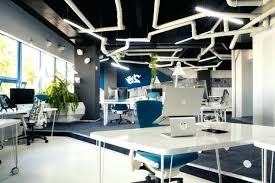 futuristic office design. Futuristic Office Interior Design Furnished With A Vision Of The Future