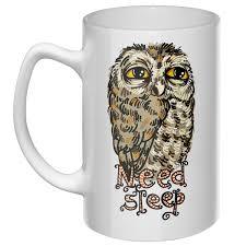 Большая кружка <b>Need</b> sleep - купить онлайн в интернет-магазине