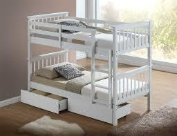 artisan hudson wooden bunk bed white