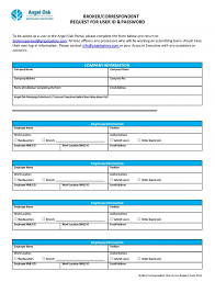 Access Order Form Template Broker Correspondent Request Form Angel Oak Mortgage Solutions