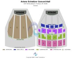 Arlene Schnitzer Concert Hall Seating Chart Arlene Schnitzer Concert Hall Tickets In Portland Oregon