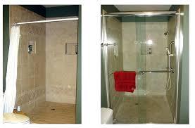 sliding glass shower door parts install sliding glass shower doors cafe how to replace sliding glass