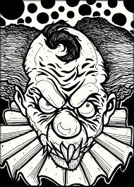 Download Free Printable Scary Coloring Pages For Adults Which