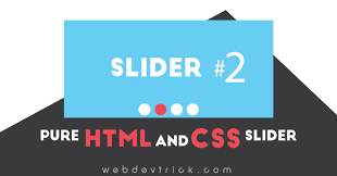 Pure HTML and CSS Slider | Autoplay Slider Source Code