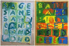 4th jasper johns word ladders