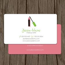 makeup artist business card calling card mommy card contact card cosmetologist calling cards makeup business cards