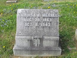 Anna Louisa Yoder Merkel (1863-1943) - Find A Grave Memorial