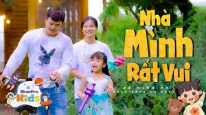 Bé Minh Vy 🥕 Nhà Mình Rất Vui 🥕 Nhạc Thiếu Nhi Sôi Động 🥕 Nhacpro Kids  🥕 Mầm Chồi Lá - YouTube