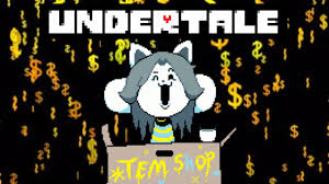Undertale Money Farming W Tem Shop Youtube