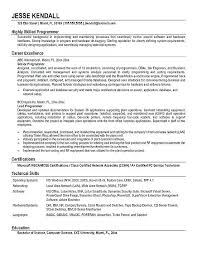 Cover Letter Computer Programmer Cover Letter Template For Sample