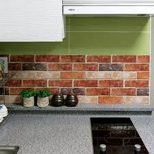 brick effect tile stickers home decor kitchen bathroom wall diy wallpaper decal 8807511000701
