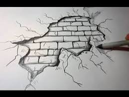 how to draw a brick wall background