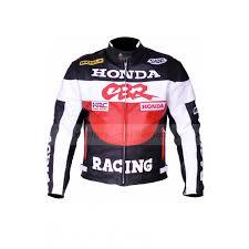 racing honda cbr leather motorcycle jacket zoom racing
