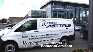 new 2016 sprinter and metris vans at romano motors serving syracuse and cny