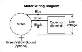 4 wire motor connection diagram 4 image wiring diagram ac fan motor capacitor wiring diagram wiring diagram schematics on 4 wire motor connection diagram