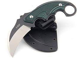 Sanrenmu S635 <b>Outdoor Portable Fixed</b> Blade Claw Knife 14C28N ...