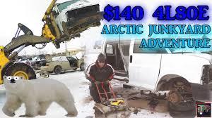 junkyard 4l80e transmission rescue freezing cold turbo ls swap hotrod trans for