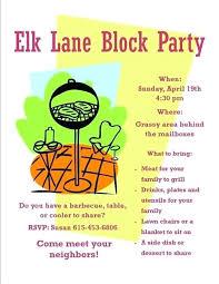 Neighborhood Party Invitation Wording Summer Block Party Ideas Invitation Wording Relod Pro
