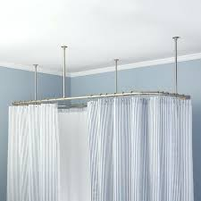 diy corner shower curtain rod baroque corner shower curtain spaces with elegant regarding ceiling mounted shower curtain rods install corner shower curtain