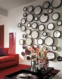 interior designs simple wall mirror ideas simple round style wall mirror ideas with dramatic