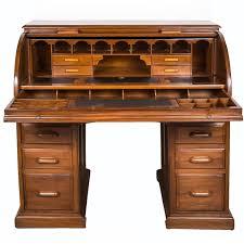 antique anglo indian or british colonial teak wood cylinder desk for at 1stdibs