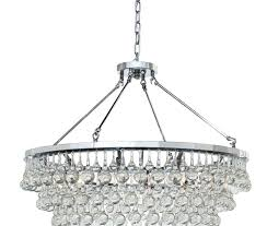 crystal drop chandelier tapered glass black pendant pottery barn clarissa small