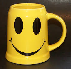 Smiley Face Coffee Mug Happy Face Stein Large Smiley Face Coffee Cup Mug Smiley Coffee