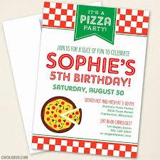 Pizza Party Invitation Templates Pizza Party Invitation Template Free Lovely Blank Pizza Party
