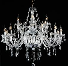 18 arm french provincial glass chandelier 18pcs philips dimmable e14 light bulb