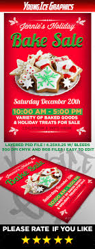 holiday bake flyer by youngicegfx graphicriver holiday bake flyer events flyers