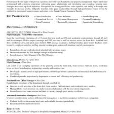 Hotel Resume Example Sample No Experience Housekeeper Examples