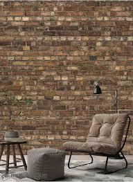 brown old brick wall