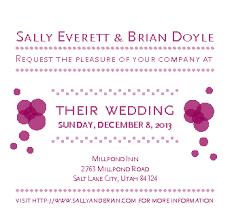 Sample Of Wedding Invatation How To Make Wedding Invitations With Sample Invitations