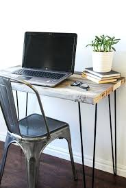diy fitted office furniture. Diy Fitted Office Furniture Reclaimed Wood Desk With Hairpin Legs Modern
