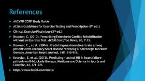 31 references aacvpr ccrp study guide acsm s guidelines for exercise