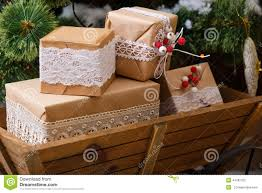 How To Decorate Wooden Boxes Old Wooden Box With Vintage Christmas Decorations Stock Photo 16
