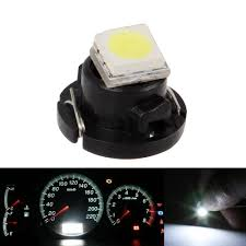 Us 949 25 Off50 Stks T3 Led Auto Dashboard Lampen Smd 3528 Automobiles Instrumenten Lampjes Lampen Vervanging Lampen Auto Styling Door Univerasl