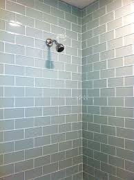 how to install subway tile in a shower mg bath gray glass subway tile shower surround